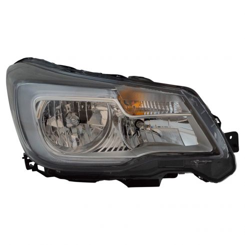 17 18 Subaru Forester Halogen Headlight Rh