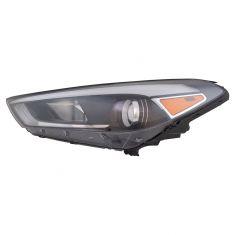 16-17 Hyundai Tucson Halogen Headlight LH (w/o LED Accent)