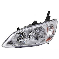 04-05 Honda Civic (exc 3 Door) Headlight LH