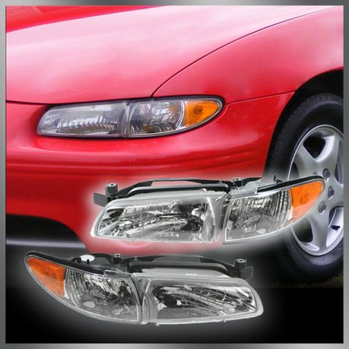 How to Replace Headlight 97-03 Pontiac Grand Prix | 1A Auto