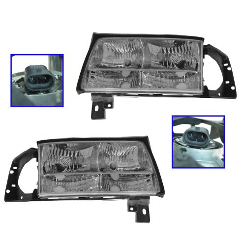 1997-99 Deville Composite Headlight Pair