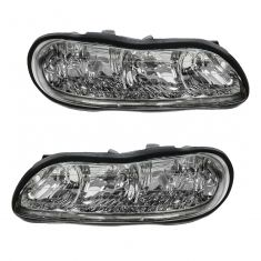 1997-03 Chevy Malibu Composite Headlight Pair