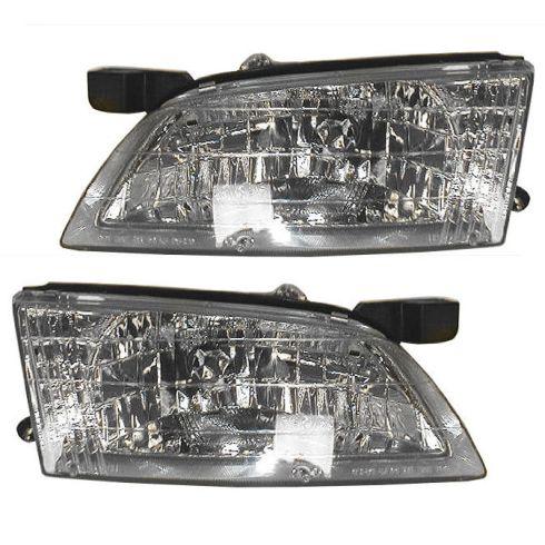 1998 99 Nissan Altima Headlight Pair 1alhp00114