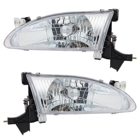 98-00 Corolla Headlight Pair