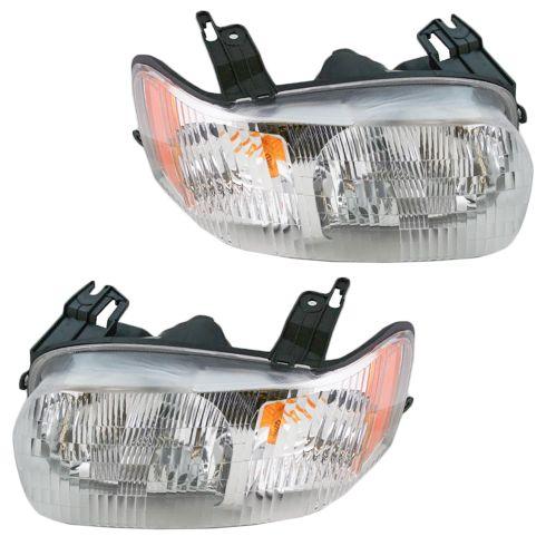 2001 04 Ford Escape Headlight Pair