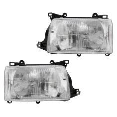 93-98 Toyota T100 Headlight Pair