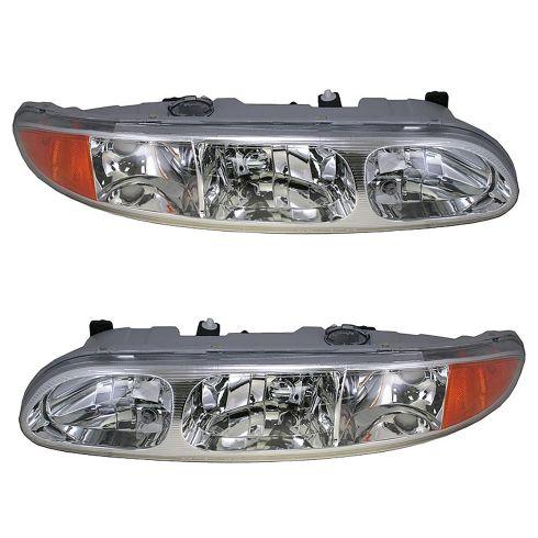 99-04 Oldsmobile Alero Headlight Pair