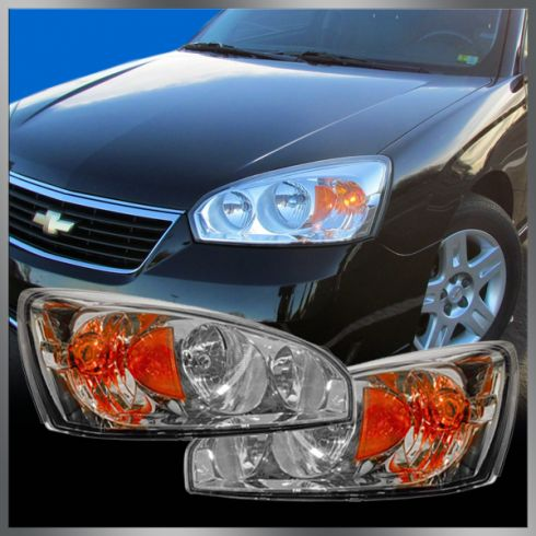 Chevy Malibu Headlight Pair