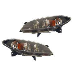 04-06 Mazda 3 4dr Sedan Halogen Headlight PAIR