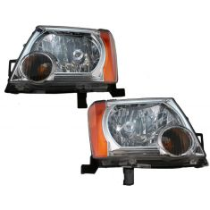 05-07 Nissan Xterra Headlight Pair