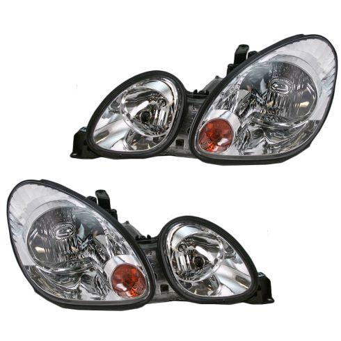 98-05 Lexus GS300 GS 400 GS430 Headlight Pair