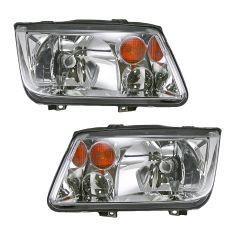 02-05 VW Jetta Headlight Pair
