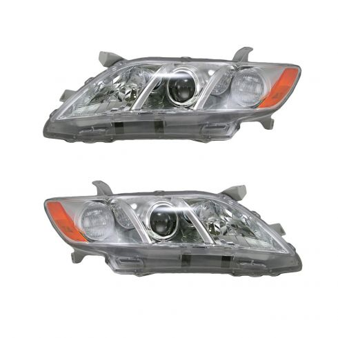 07-09 Toyota Camry LE and XLE Headlight Pair