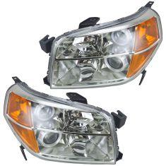 06-08 Honda Pilot Headlight Pair