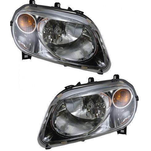 2006-09 Chevy H.H.R Headlight Pair