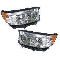 06-08 Subaru Forester Halogen Headlight Pair