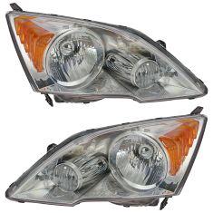 07-11 Honda CRV Headlight Pair