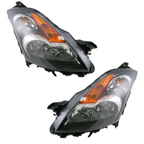 07-08 Nissan Altima Sedan Halogen Headlight Pair