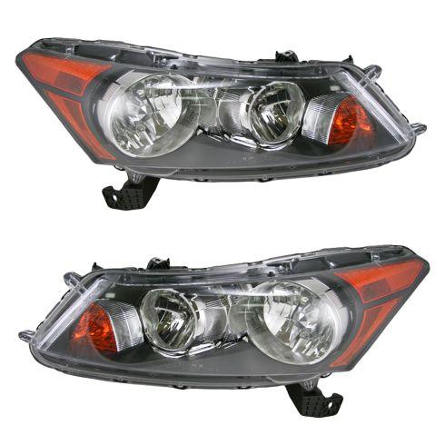 08-11 Honda Accord Sedan Headlight Pair