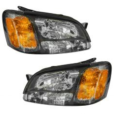 00-04 Subaru Legacy Outback GT Headlight Pair
