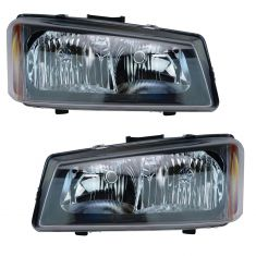 05-07 Chevy GMC Silverado Sierra Headlight Pair