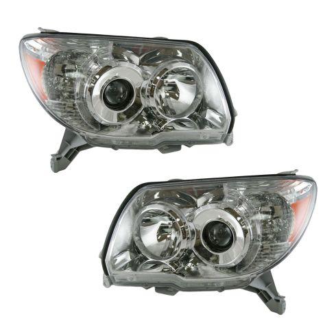 06-07 Toyota 4 Runner Headlight for Limited SR5 Model Pair