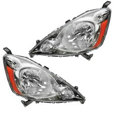09-10 Honda Fit w/Sport Pkg Headlight PAIR