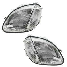 98-04 Mercedes SLK Class Halogen Headlight PAIR