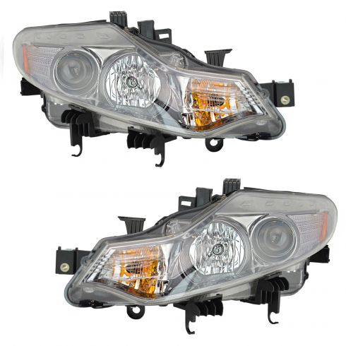 09-10 Nissan Murano Halogen Headlight PAIR