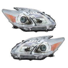 10 Toyota Prius Headlight PAIR