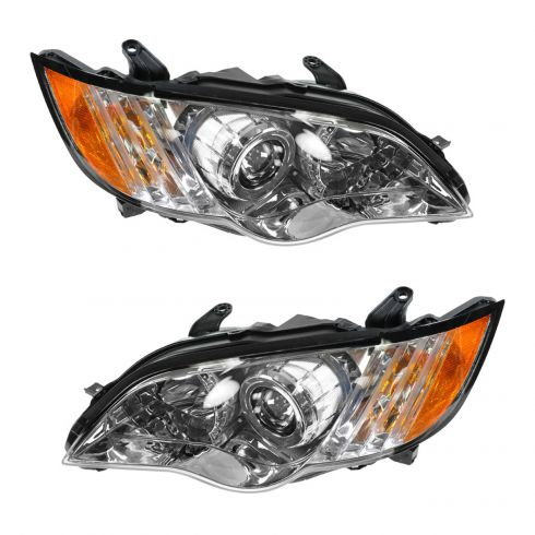 08-09 Subaru Legacy Outback Headlight PAIR