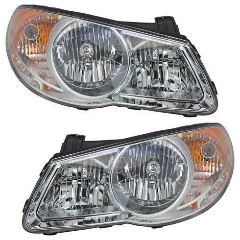 07-09 Hyundai Elantra Headlight Pair