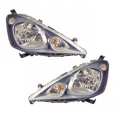 09-11 Honda Fit (exc Sport Model) Headlight PAIR