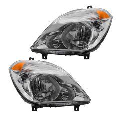 10-13 Mercedes Benz Sprinter Van Halogen Headlight PAIR
