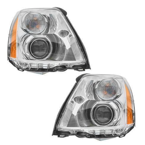 06-11 Cadillac DTS Headlight PAIR