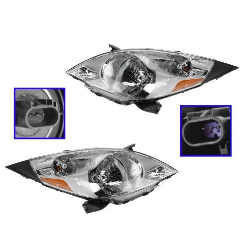 13-14 Chevy Spark Headlight PAIR