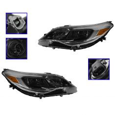 2013-14 Toyota Avalon Halogen Headlight Pair