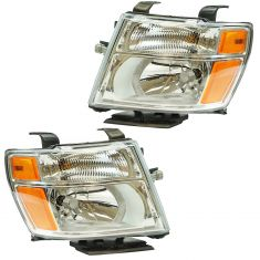 12-16 Nissan NV 1500, 2500, 3500 Headlight LH RH Pair