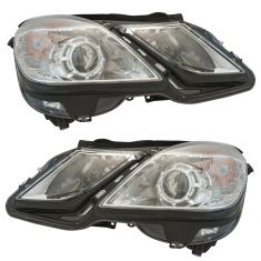 13 MB E300, E400 Sdn; 10-13 E350, E550 Sdn; 11-13 E350 SW Halogen Headlight Assy Pair
