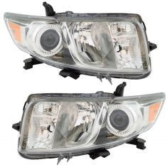 11-15 Scion xB Halogen Headlight Assembly Pair