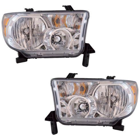 10-13 Toyota Tundra Headlight (w/ Auto Leveling) Pair