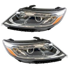 14-15 Kia Sorento HID Headlight Pair (w/ LED Accents)