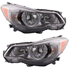 Crosstrek,Impreza Halogen Headlight Pair