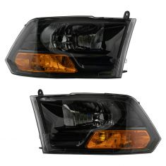 Performance Headlight Pair (Black)