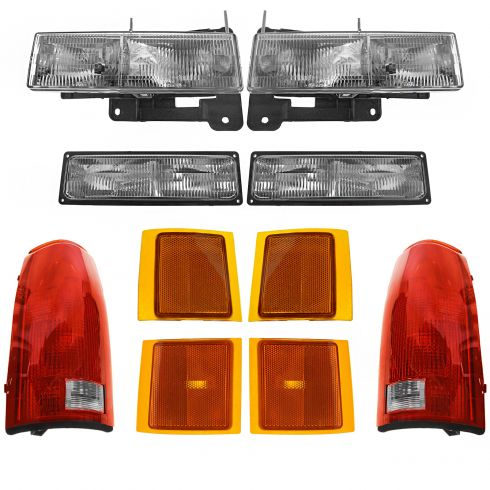 94-00 Chevy PU Head and Tail Light Set