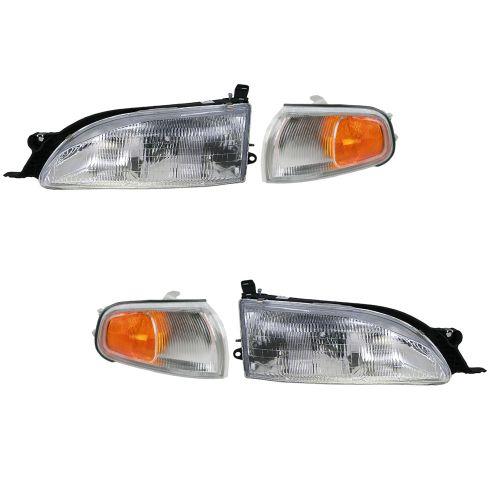 95-96 Toyota Camry Headlight Parking light Set
