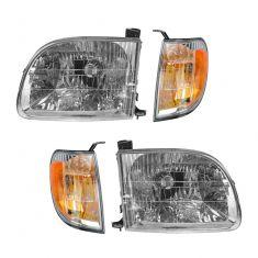 00-03 Toyota Tundra Headlight & Marker Light Kit