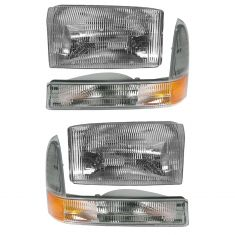99-04 Ford SD Pickup and Excursion Headlight & Sidemarker Kit