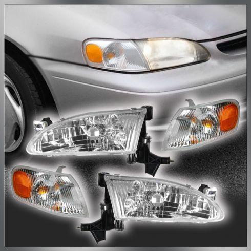 TYC 20-5220-00 Toyota Corolla Driver Side Headlight Assembly
