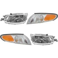 99-01 Toyota Solara Headlight & Corner Light Kit (Set of 4)